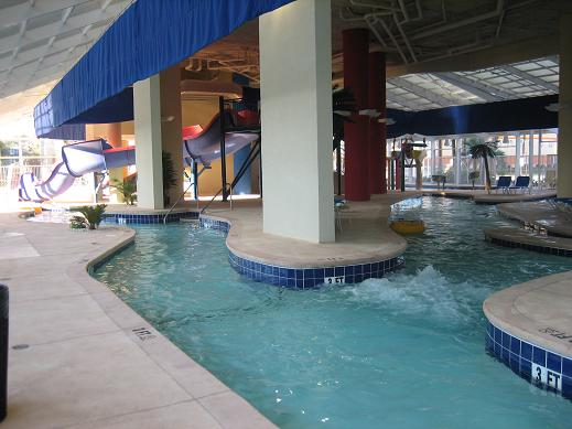 Dunes Village Resort Lazy River At In Myrtle Beach Largest Indoor Water Park