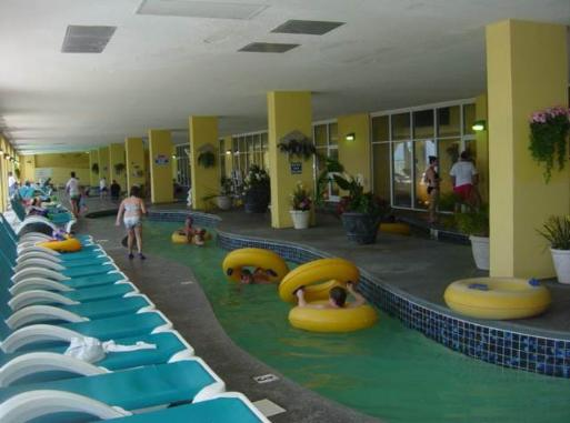 Water Park at Camelot by The Sea 200 ft. heated Indoor lazy river
