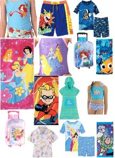 Disney Princess Swimsuit - Ariel Swimsuit - Disney Swimsuit - Beach Towel