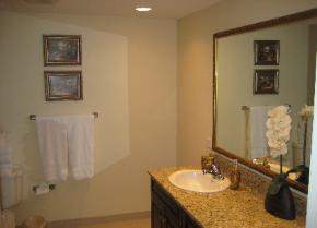 Luxury Master Bathroom - Ocean Blue Myrtle Beach Direct Ocean Front - Myrtle Beach Houses for Rent