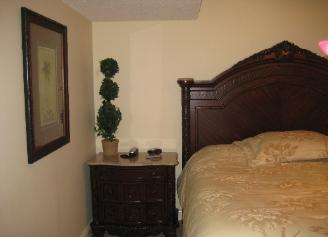 Bedroom #2 - Second Master Bedroom with 1 King Size Bed - - Direct Ocean Front - Myrtle Beach Houses for Rent