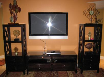 Private Media Room with 50 inch Plasma TV - OCEAN BLUE RESORT Myrtle Beach -Vacation Rentals - www.JeffsCondos.com
