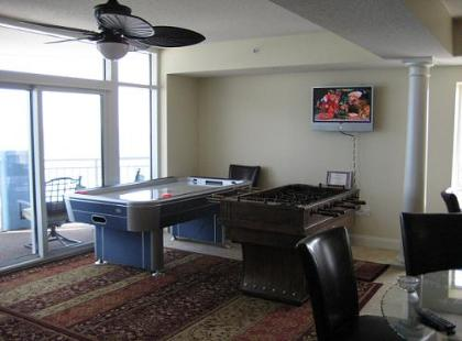 Foosball & Airhockey - ONLY for Guests of www.JeffsCondos.com - Ocean Blue Resort Myrtle Beach - Myrtle Beach Vacation Homes Rentals