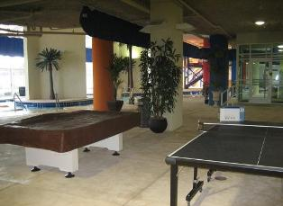 Billiards and Ping Pong at Dunes Village Resort in Myrtle Beach - Largest indoor water park in all of Myrtle Beach SC